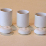Mini Pottery- Canister Set of 4 by TVS