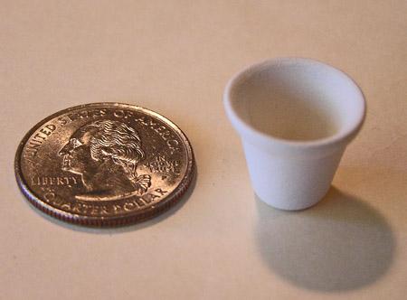Mini Pottery- No 3 Flower Pot by TVS
