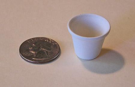 Mini Pottery- No 4 Flower Pot by TVS