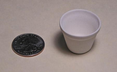 Mini Pottery- No 5 Flower Pot by TVS