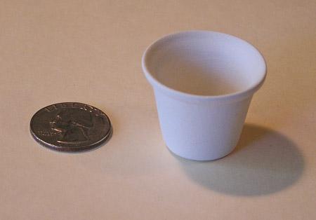 Mini Pottery- No 6 Flower Pot by TVS