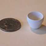 Mini Pottery- Small Bowl Wide Rim by TVS