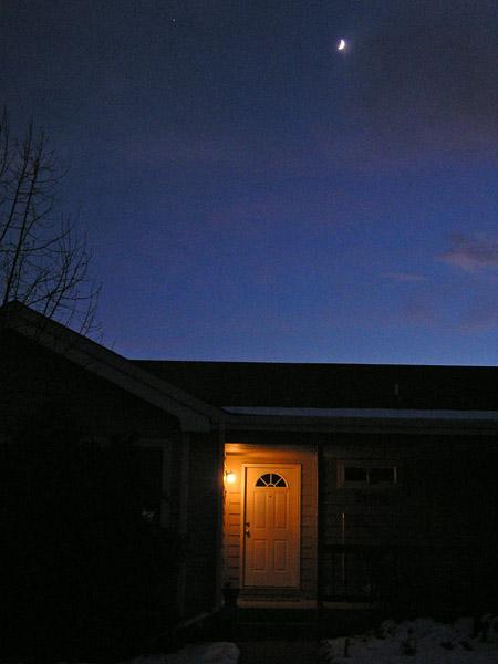 Night Sky- Front Door by TVS